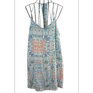 Very j sun dress spaghetti straps & white lining